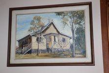 The Church of The Annunciation Anglican Church - Painting Old Roadvale Church 02-07-2017 - John Huth, Wilston, Brisbane