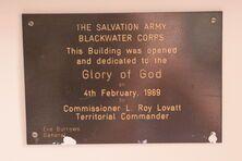 The Salvation Army - Blackwater 21-07-2020 - John Huth, Wilston, Brisbane