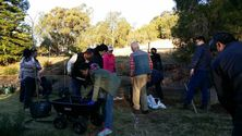 Toowoomba Chinese Church - Family Event Planting Trees 03-09-2017 - Michael Hsieh