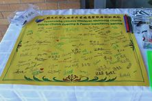 Toowoomba Chinese Church - Inauguration - Signatures of Attendees 07-02-2016 - Michael Hsieh