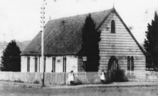 Toowoomba Congregational Church - Former 00-00-1888 - John Oxley Library SLQ negative number 203515