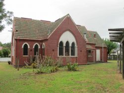 Trafalgar Methodist Church Church - Former 14-01-2015 - John Conn, Templestowe, Victoria
