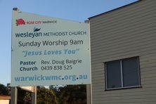 Warwick Wesleyan Methodist Church 28-01-2017 - John Huth, Wilston, Brisbane.