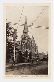 Waverley Methodist Church - Former unknown date - https://postcardnsw.com/397/bondi-junction
