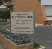 Wayville Baptist Church Inc - Sign 00-07-2016 - Google Maps - google.com.au/maps