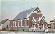 Wellington Street Methodist Church, Bondi unknown date - State Library of NSW (796137) - See Note.