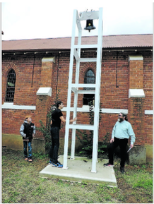 Welsh Memorial Uniting Church - Bell Tower 01-05-2016 - Forbes Advocate - See Note.