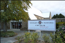 Wesley Uniting Church 00-00-2017 - Church Website - See Note.