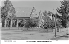 Wesleyan Methodist Jubilee Church - Former unknown date - Rose Stereograph Co - State Library Victoria - See Note.