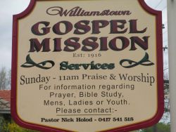 Williamstown Gospel Mission 02-10-2014 - John Conn, Templestowe, Victoria