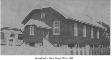 Wynnum Christian Community Church - Earlier Church Building 00-00-1963 - Jill Greenhill - WMHS - Newsletter No 41 April 2012