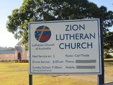 Zion Lutheran Church 01-08-2012 - John Huth   Wilston   Brisbane