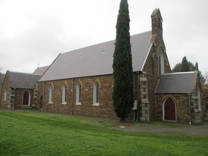 Holy Trinity Anglican Church - Maldon Vic - 23-06-2016 - John Conn